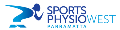 sports physio west logo